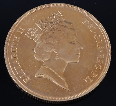 Lot 2079 - Great Britain, 1985 gold UNCIRCULATED five...
