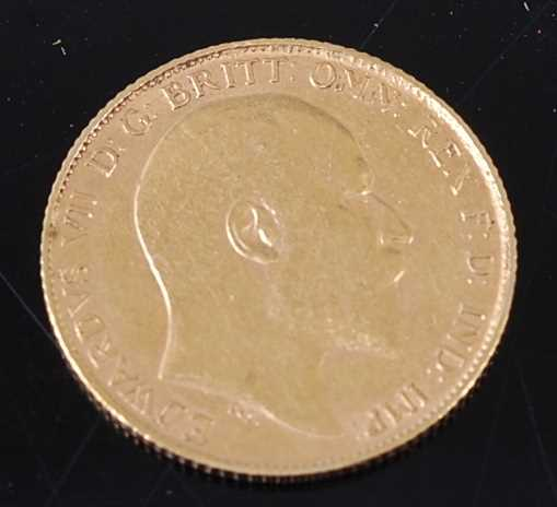 Lot 2054 - Great Britain, 1903 gold half sovereign,...