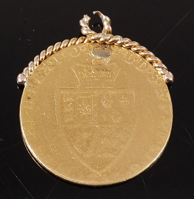 Lot 2080 - Great Britain, 1787? gold spade guinea, George...