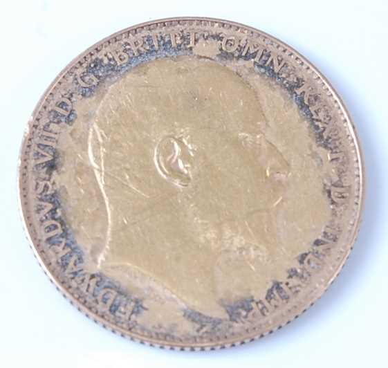 Lot 2057 - Great Britain, 1909 gold full sovereign,...