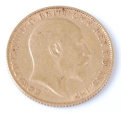 Lot 2061 - Great Britain, 1903 gold half sovereign,...