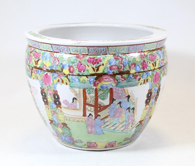Lot 57 - A 20th century Chinese Canton stoneware...