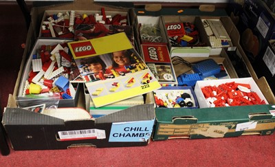 Lot 94 - Two boxes of vintage Lego