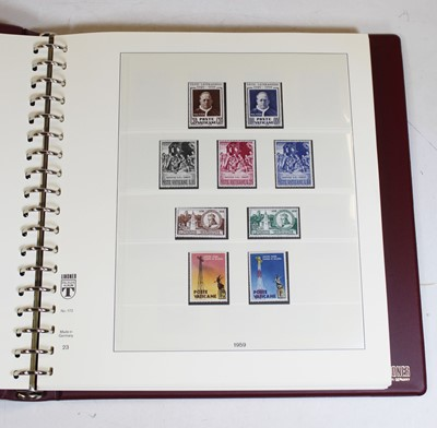 Lot 30 - An album of mint Vatican postage stamps, from...