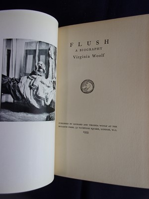 Lot 3005 - WOOLF, Virginia. Flush, a Biography. Hogarth...