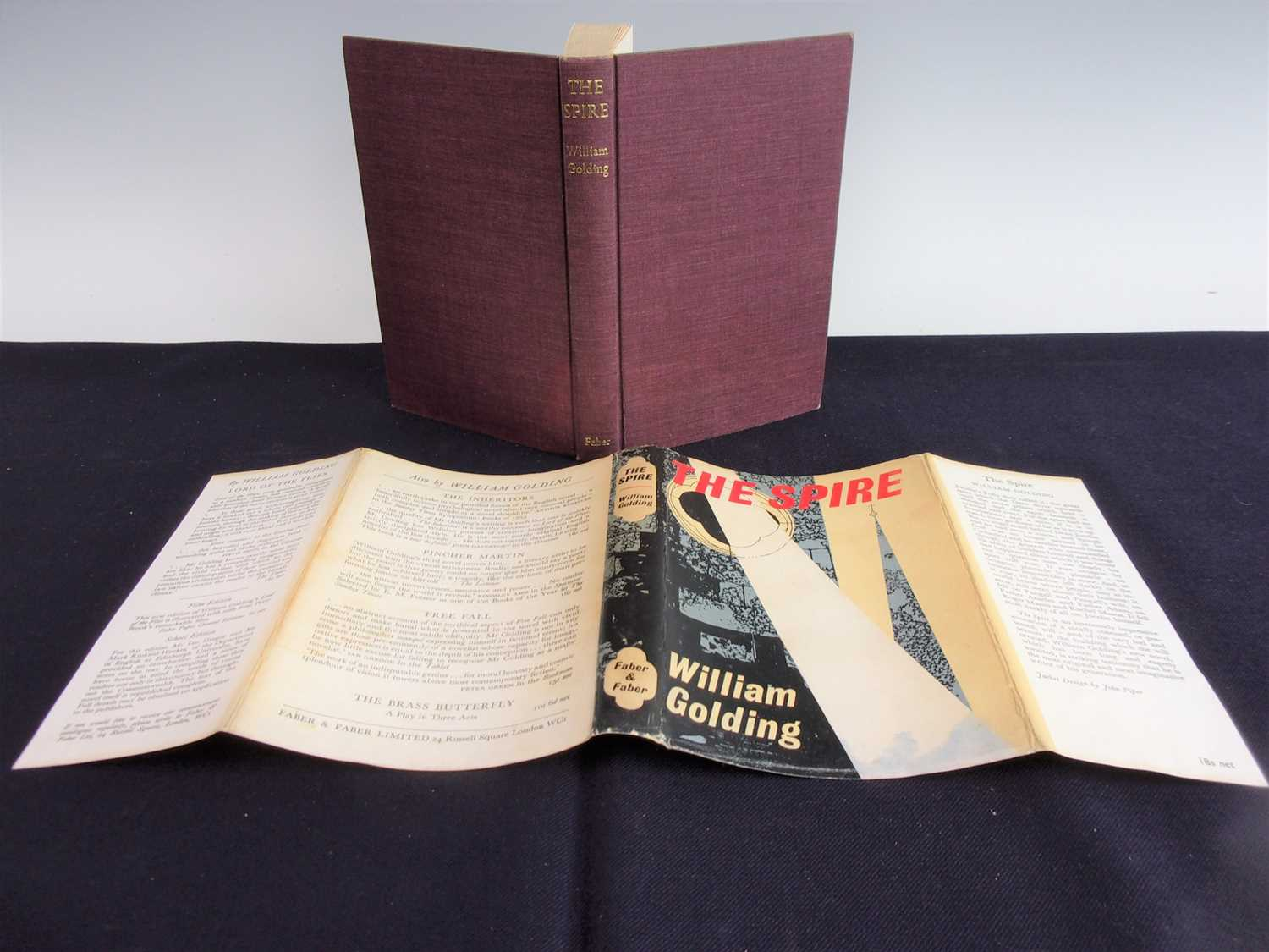 Lot 3006 - GOLDING, William. The Spire. Faber & Faber,...
