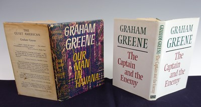 Lot 3007 - GREENE, Graham. 'Our Man in Havana', 'A Sort...