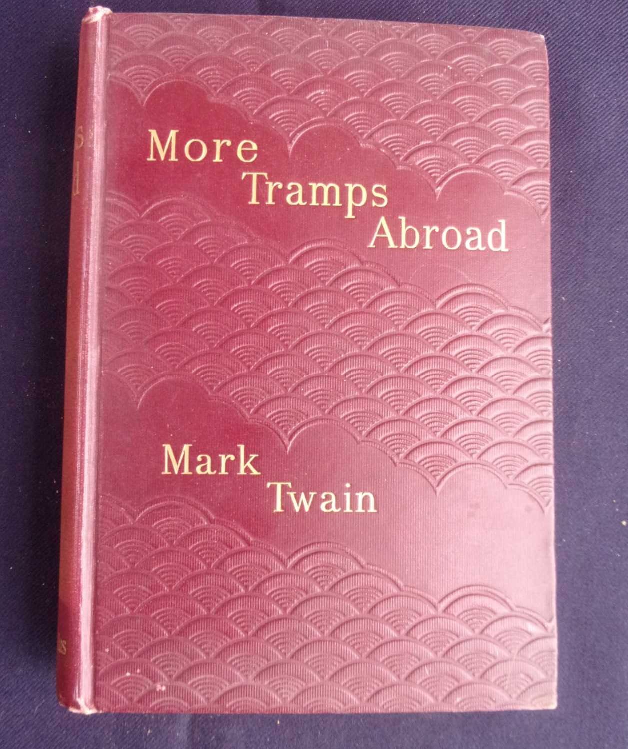 Lot 3008 - TWAIN, Mark. More Tramps Abroad. Chatto &...