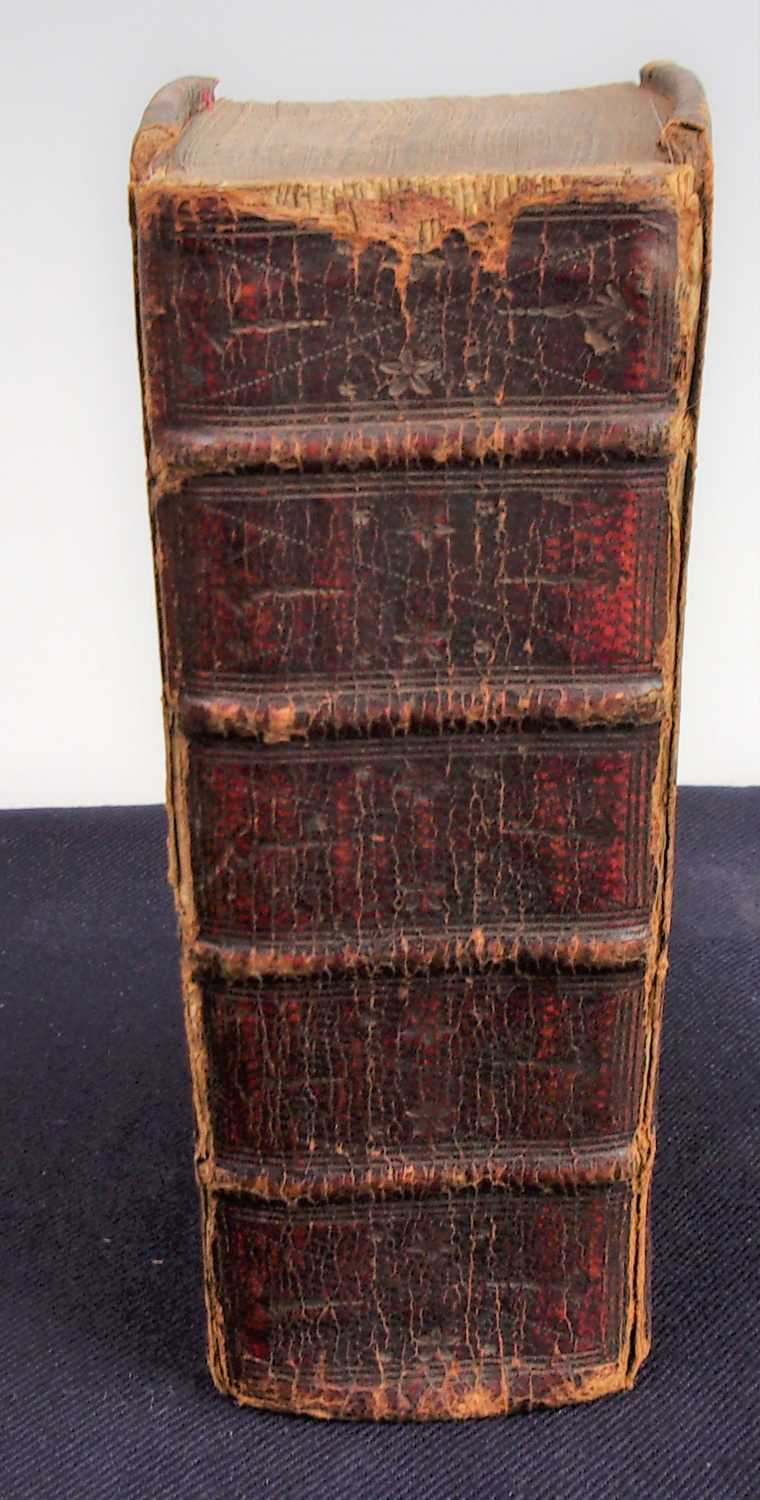 Lot 3012 - The Holy Bible, containing the Old and New...