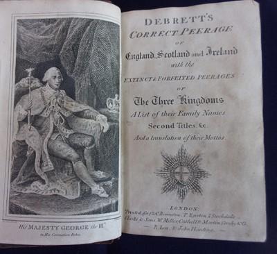 Lot 3013 - Debrett's Peerage of England, Scotland and...