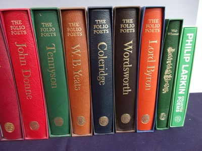 Lot 3017 - A Collection of Folio Society Poets to include...