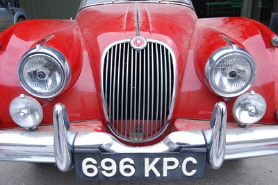 Lot 3426 - A 1959 Jaguar XK150 drophead coupe 3442cc...