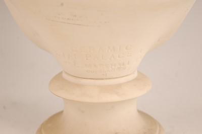 Lot 3032 - A Copeland Parian bust of Miranda after W.C....