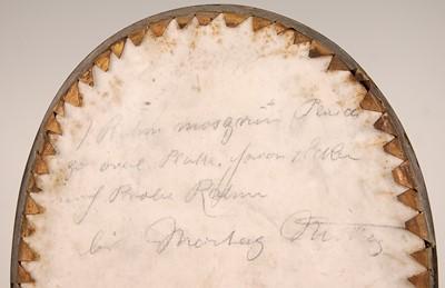 Lot 3040 - A KPM porcelain plaque depicting a bust...