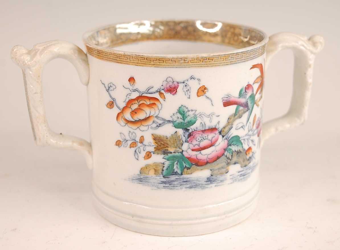 Lot 3025 - A Victorian Till & Sons ironstone loving 'frog'...