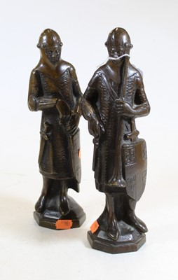 Lot 24 - A late 19th century French bronze sculpture of...