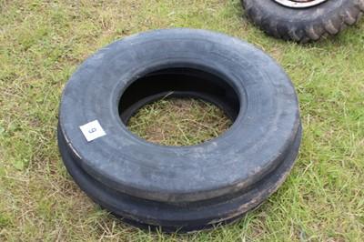 Lot 9 - 1 Tyre (12.5/80/18)