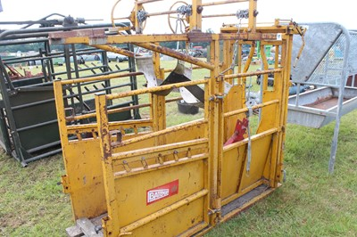 Lot 17 - Bateman Cattle Foot Trimming Crush with 3...