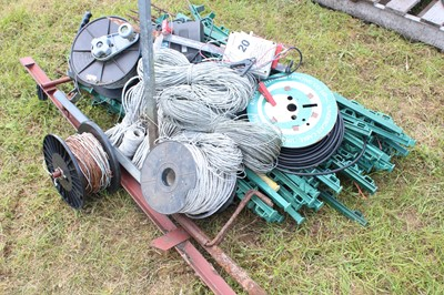 Lot 20 - Quantity of Electric Fence Posts with...