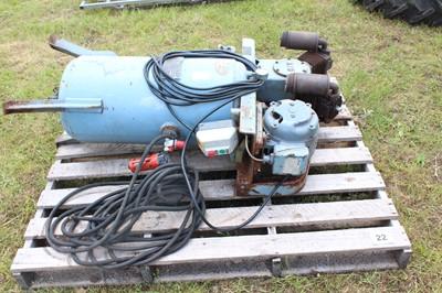Lot 22 - Three Phase Air Compressor