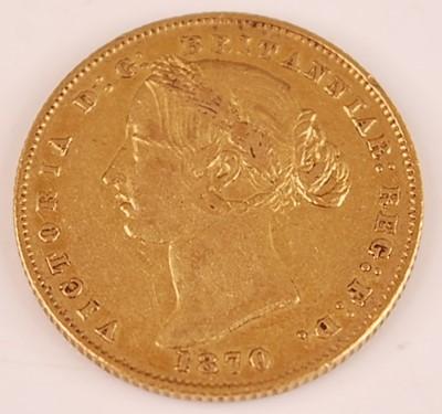 Lot Australia, 1870 gold full sovereign, Victoria...