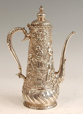 Lot A late 19th century silver Tiffany & Co...