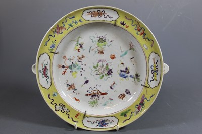 Lot 4 - An early 19th century Chinese export warming...