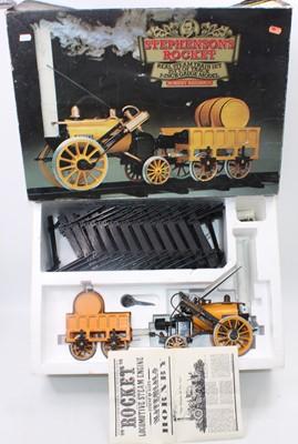 """Lot 4 - A Hornby 3.5"""" gauge Stephensons Rocket gift..."""