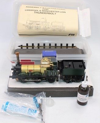 Lot 5 - An Aster live steam model of a Lion 0-4-2...