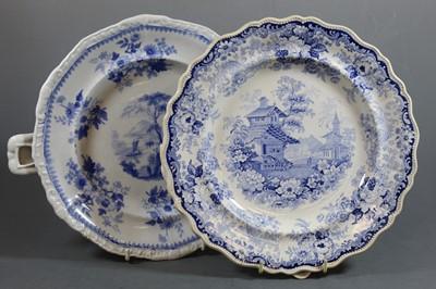 Lot 9 - A Victorian Charles Dimmock & Co bone china...