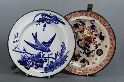 Lot 14 - A Victorian warming plate, possibly James F....
