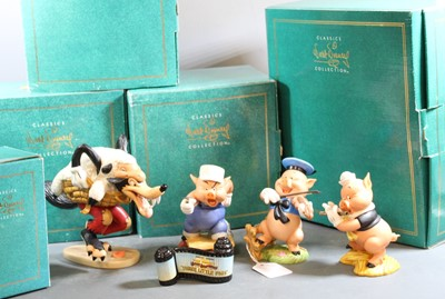 Lot 18 - A set of four Walt Disney Classics Collection...