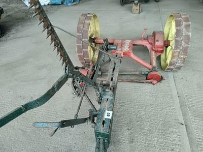 Lot 67 - Massey Harris Grasscutter