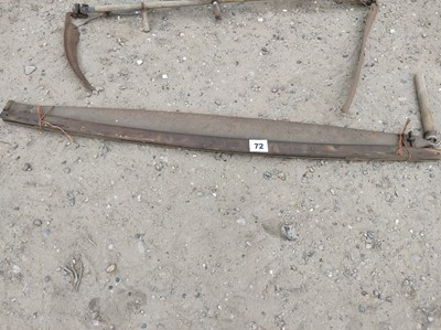 Lot 72 - 1 x Wooden Saw