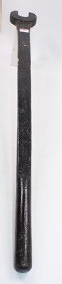 Lot 24 - Fishplate spanner, stamp blurred but appears...