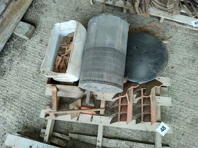 Lot 48 - Matrot Sugar Beet Harvester Parts