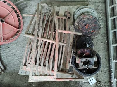 Lot 51 - Matrot Sugar Beet Harvester Parts