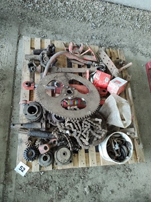 Lot 52 - Matrot Sugar Beet Harvester Parts