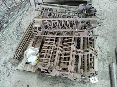 Lot 54 - Matrot Sugar Beet Harvester Parts
