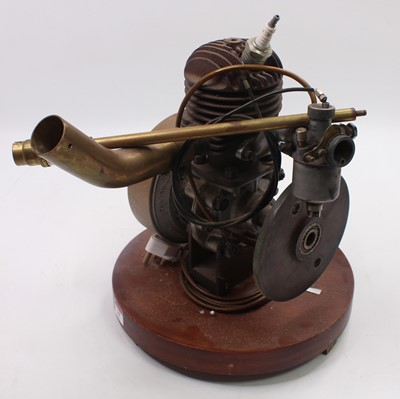 Lot 10 - A quantity of various engine components to...