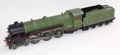 Lot 2.5 inch gauge live steam locomotive and...