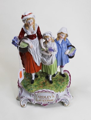 Lot 3 - A reproduction porcelain Yardley's advertising...