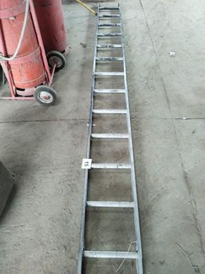 Lot 15 - Alluminium Ladder