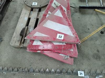 Lot 22 - Hazard Signs