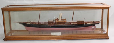 Lot A very well made Ship Makers display model of...