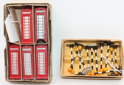 Lot 1009 - A Trade box of Dinky Toys No.6 5x Telephone...