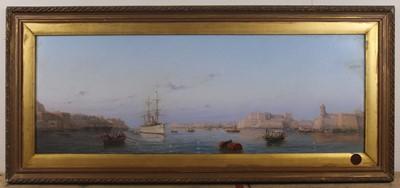 Lot 1260 - Luigi Maria Galea (Maltese 1847-1917) - Pair:...
