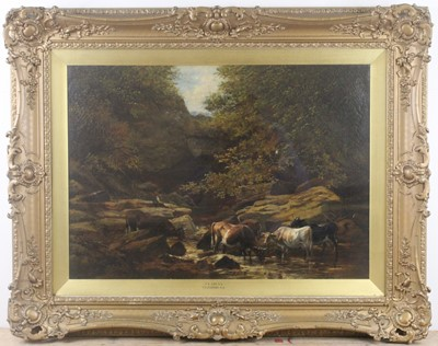 Lot Thomas Sidney Cooper (1803-1902) & Frederick...