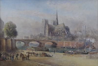 Lot Albert Goodwin (1845-1932) - The Notre Dame...