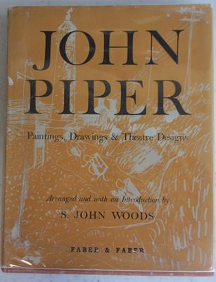 Lot 1009 - WOODS, S.J. John Piper Paintings, Drawings &...